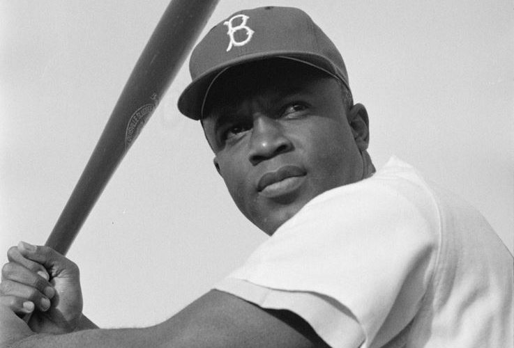 Major League Baseball  celebrates Jackie Robinson's breaking of color barrier