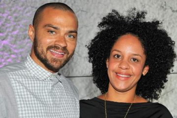 jesse williams & wife1