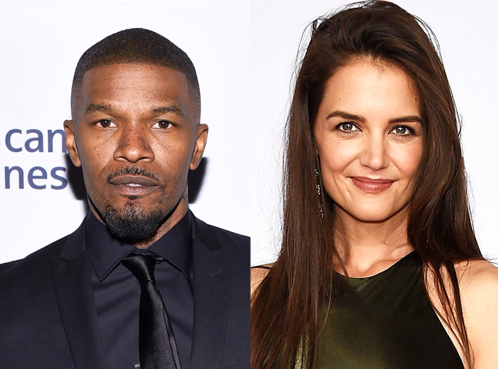 Here's a reminder that Katie Holmes and Jamie Foxx are still dating