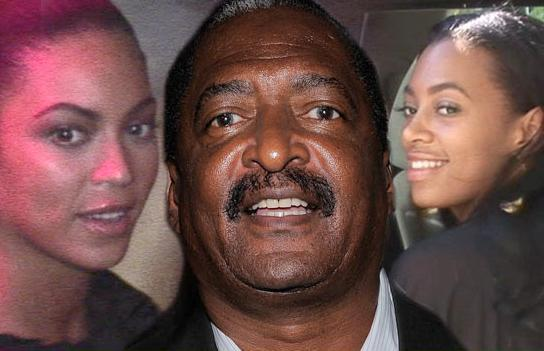 mathew knowles (with beyonce & solange)