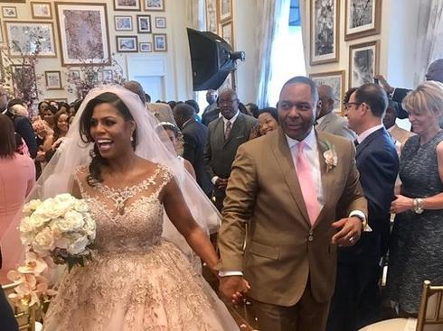 Omarosa gets married at Trump's DC hotel