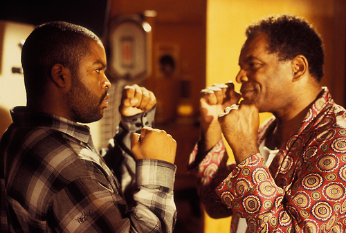 """Ice Cube (L) and John Witherspoon in """"Friday"""""""