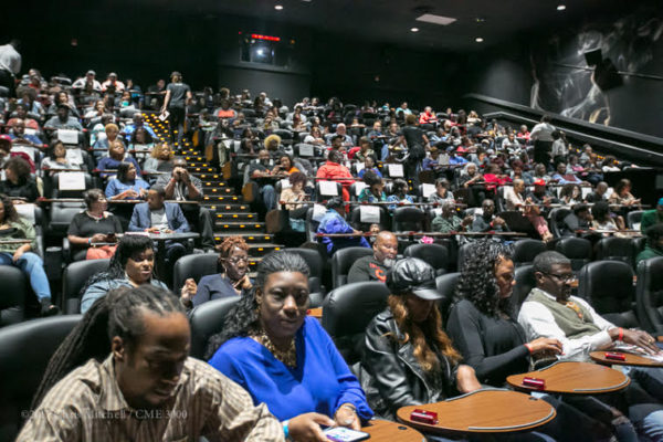 A full house in Charlotte for the advance screening at Studio Movie Grill on April 23, 2017. Used by permission. Photo credit: Chris Mitchell