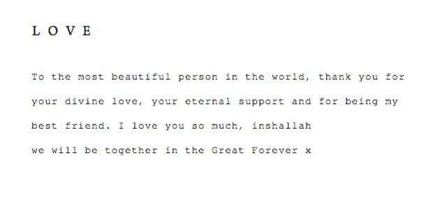 Wissam Al Mana Posts Goodbye Letter to Janet Jackson on His