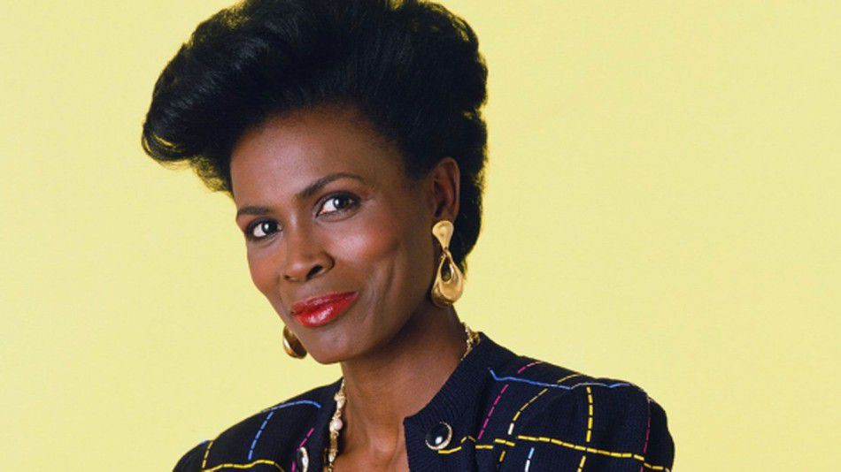 Janet Hubert as Aunt Viv, from the 'Fresh Prince of Bel-Air' (1990)