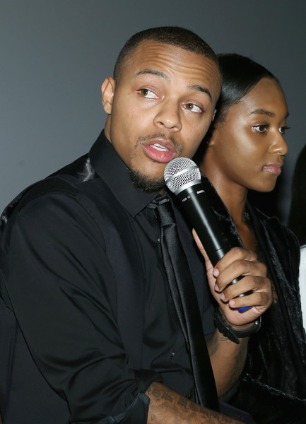 "Shad ""Bow Wow"" Moss speaks at the WE tv's Growing Up Hip Hop Atlanta premiere screening event on May 16, 2017 in New York City."
