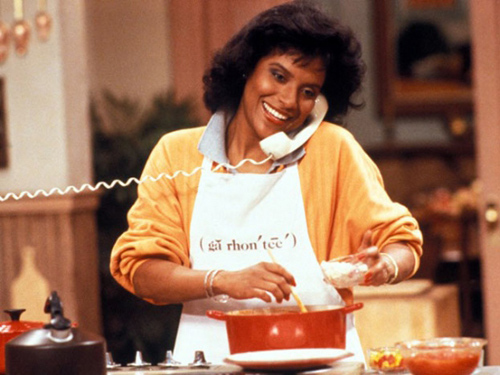 Phylicia Rashad as Clair Huxtable, on 'The Cosby Show' (1984)