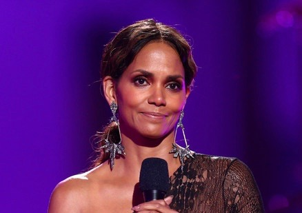 Actor Halle Berry speaks onstage during the VH1 'Dear Mama' taping on May 6, 2017 in Los Angeles, California.