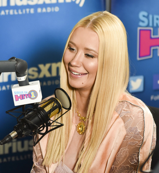 """Iggy Azalea visits """"Hits 1 In Hollywood"""" on SiriusXM Hits 1 Channel at The SiriusXM Studios In Los Angeles on May 18, 2017 in Los Angeles, California."""