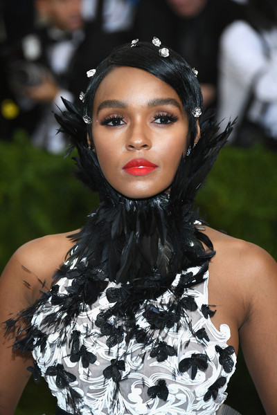 "Janelle Monae attends the ""Rei Kawakubo/Comme des Garcons: Art Of The In-Between"" Costume Institute Gala at Metropolitan Museum of Art on May 1, 2017 in New York City."