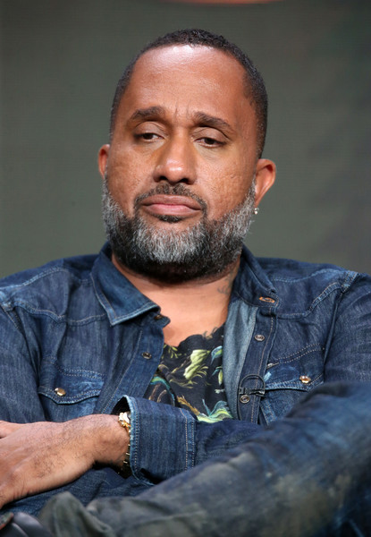 Creator/executive producer Kenya Barris speaks onstage at the 'Black-ish' panel discussion during the Disney ABC Television Group portion of the 2016 Television Critics Association Summer Tour at The Beverly Hilton Hotel on August 4, 2016 in Beverly Hills, California.