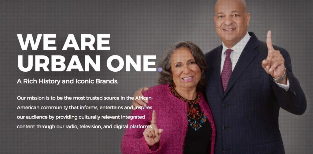 Cathy Hughes and her son Alfred C. Liggins III