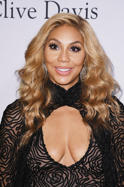 TV personality Tamar Braxton attends Pre-GRAMMY Gala and Salute to Industry Icons Honoring Debra Lee at The Beverly Hilton on February 11, 2017 in Los Angeles, California.