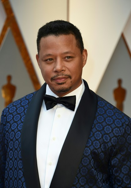 Actor Terrence Howard arrives on the red carpet for the 89th Oscars on February 26, 2017 in Hollywood, California.