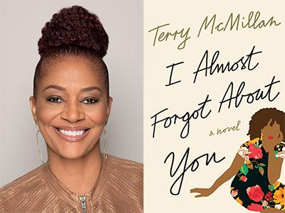 Terry McMillan Photo and Book 03302016
