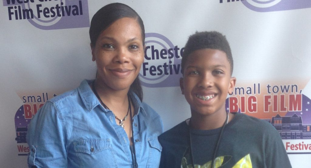 Kerri Moseley-Hobbs and son Anthony Michael Hobbs, co-founders and co-executive producers at Imagination Lunchbox, LLC,