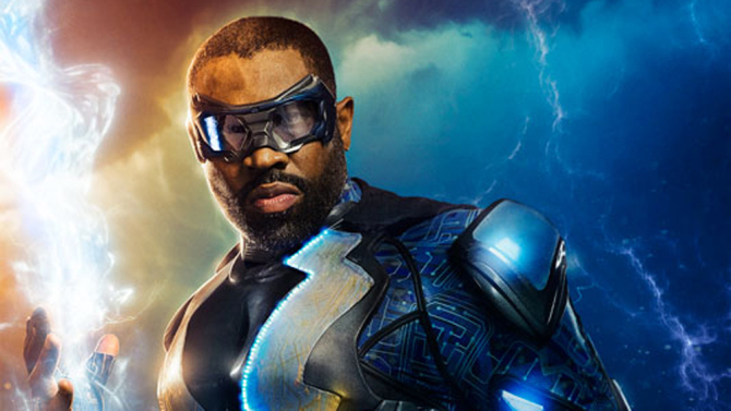 Cress Williams as Black Lightning (CW)