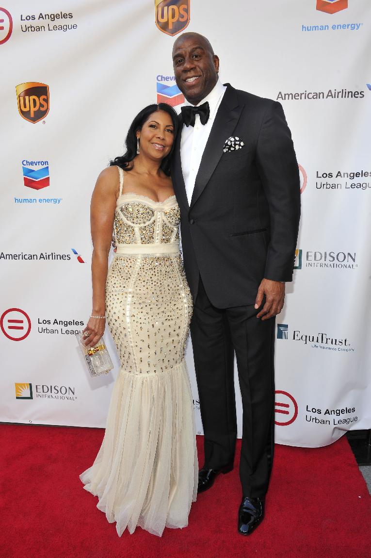 cookiemagic1-Cookie & Earvin __Magic__Johnson on the Red Carpet