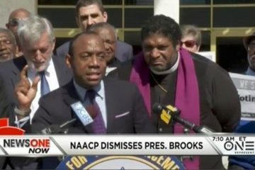 cornell brooks fired by naacp