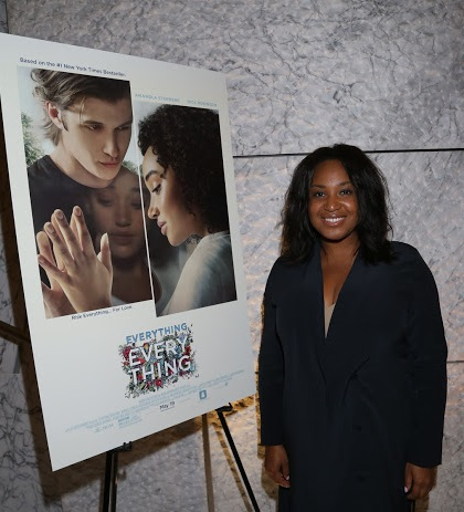 """Everything, Everything"" director Stella Meghie (Photo by @ArnoldShoots)"