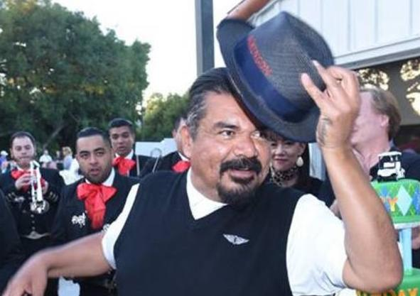 george lopez - tip of hat