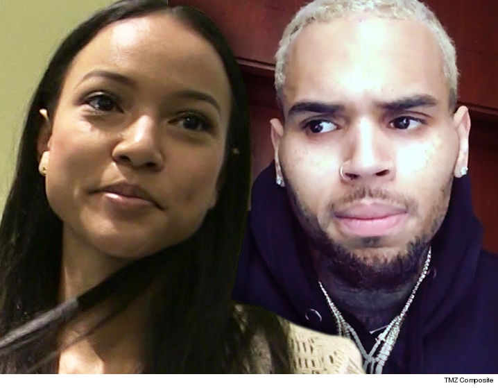 Chris Brown handed a restraining order as he celebrates 28th birthday