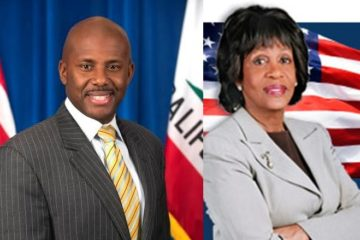 mike gipson & maxine waters