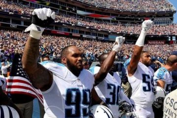 nfl players protest national anthem