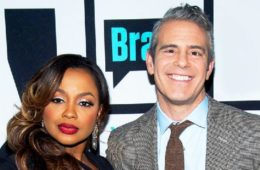 phaedra parks & andy cohen