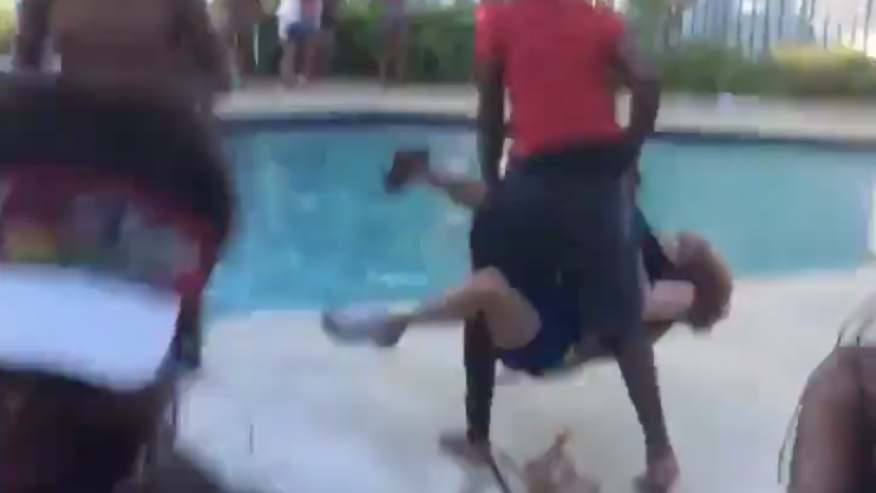Teen 'owns up to' tossing 68-year-old woman in Florida pool