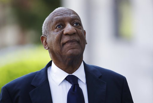 (AP Photo/Patrick Semansky). Bill Cosby arrives for his sexual assault trial at the Montgomery County Courthouse in Norristown, Pa., Tuesday, June 13, 2017.