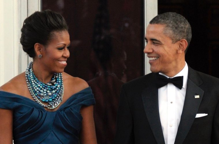 Michelle Obama outs Barack as an outfit repeater