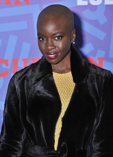 "Actress and ""Eclipsed"" Playwright Danai Gurira celebrates Women's History Month on it's Opening Night of ""Eclipsed"" at the Curran Theater on March 9, 2017 in San Francisco, California."