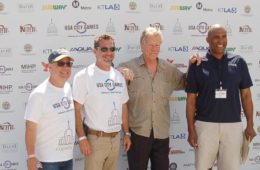 Don Janklow, Billy Frank, Goerge Hicker and Derrick Horton