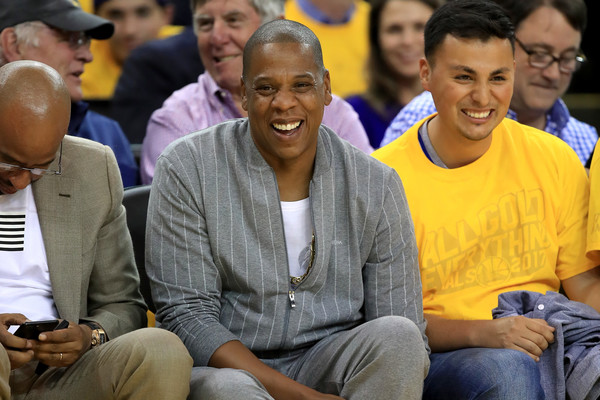 Recording artist Jay-Z attends Game 1 of the 2017 NBA Finals at ORACLE Arena on June 1, 2017 in Oakland, California.