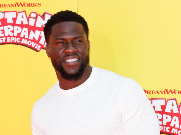 Actor Kevin Hart attends the premiere of 20th Century Fox's 'Captain Underpants: The First Epic Movie' at the Regency Village Theatre, in Los Angeles, California, on May 21, 2017. / AFP PHOTO / TIBRINA HOBSON