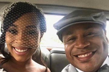 Italia Smith and dad James Todd Smith, a.k.a. LL Cool J (Instagram)