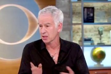 "John McEnroe on ""CBS This Morning"""