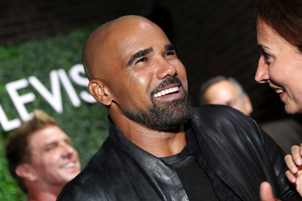 "Shemar Moore, star of the new Sony Pictures Television series ""S.W.A.T."", attends the Sony Pictures Television LA Screenings Party on May 24, 2017 in Los Angeles, California."
