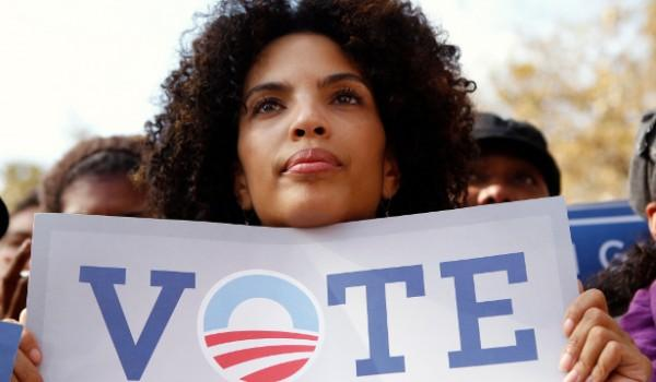 black female voter