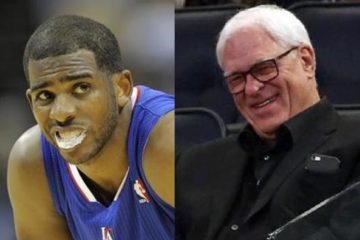 chris paul & phil jackson