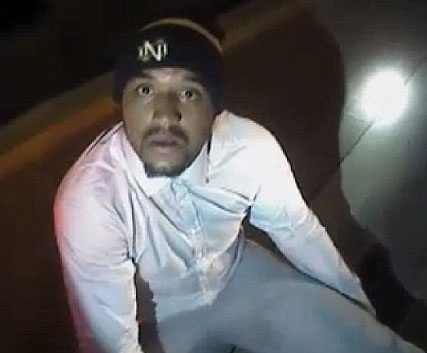 Michael Floyd during his arrest in Scottsdale, AZ in December 2016