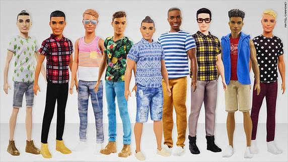 This New Brooklyn Ken Doll Has A Man Bun But No Romphim