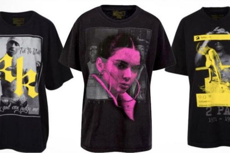 Voletta wallace flames kendall kylie jenner over use of for Kendall and kylie vintage t shirts