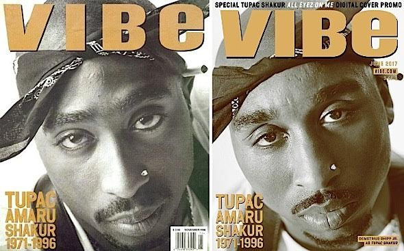 Channels Tupac For Iconic Covers