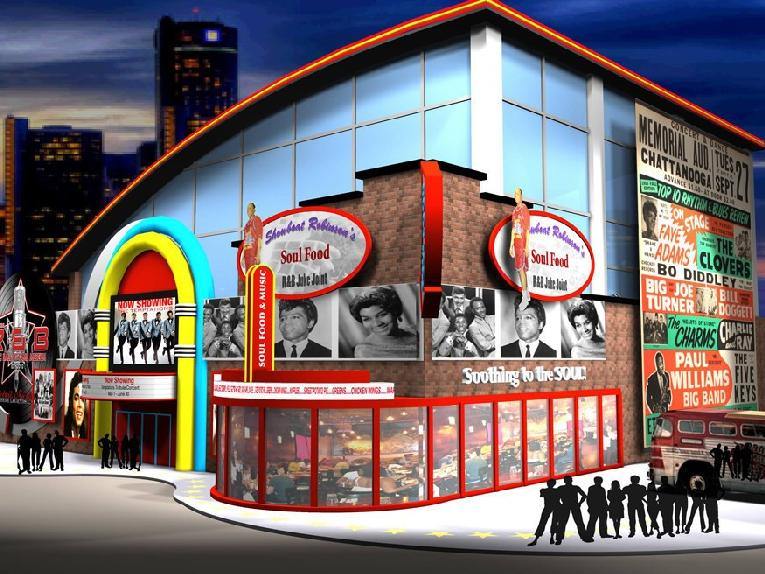 r&b hall of fame musuem rendering