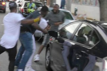 safaree gettin jumped by meek mill goons