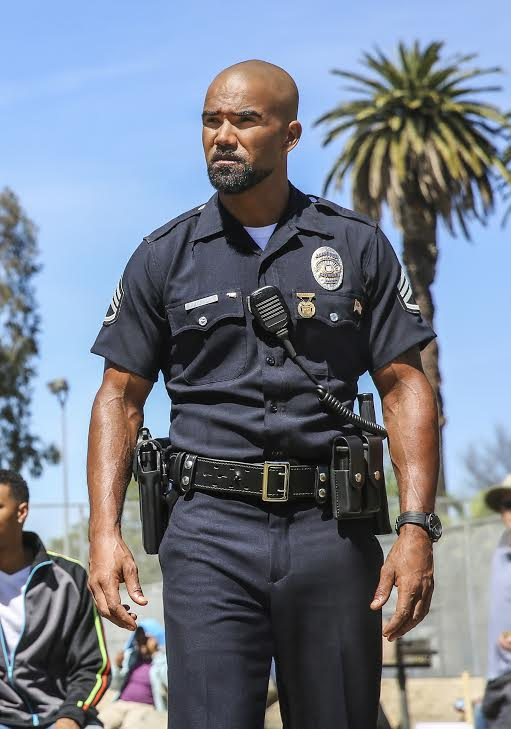 S.W.A.T. star Shemar Moore Photo: Michael Yarish/CBS ©2017 CBS Broadcasting, Inc. All Rights Reserved