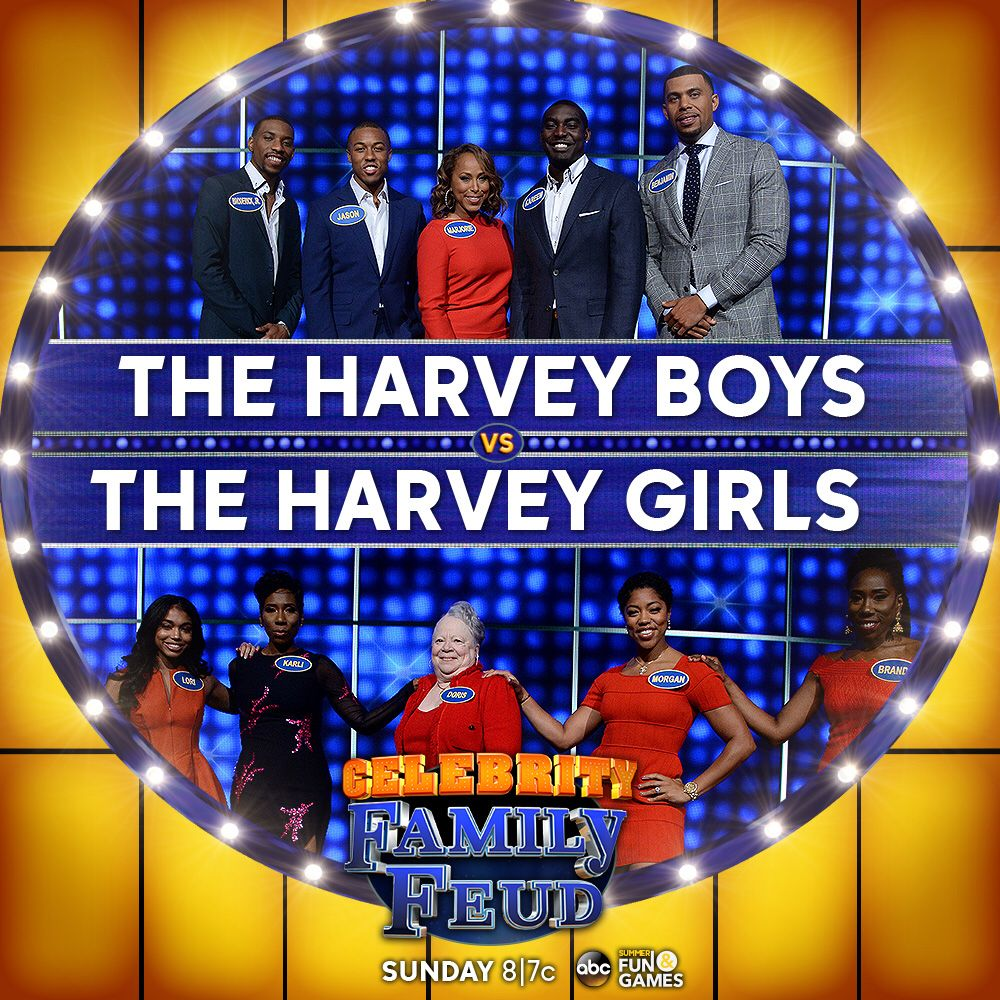 steve harvey s family to face off on celebrity family feud