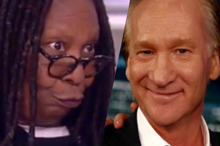 whoopi goldberg & bill maher